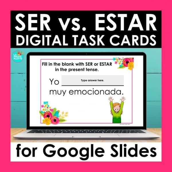 ser vs estar Google Slides