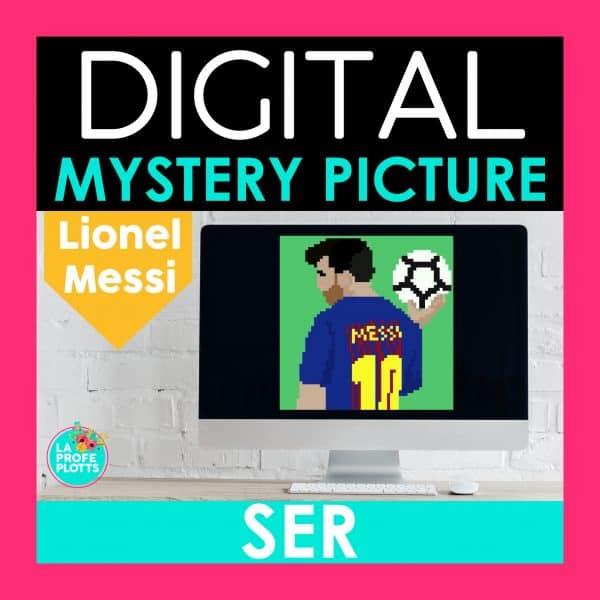 Messi pixel art
