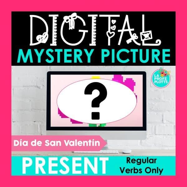 regular present tense verbs digital activity