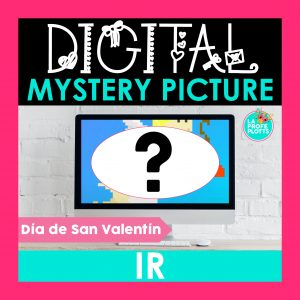 IR digital mystery picture, pixel art